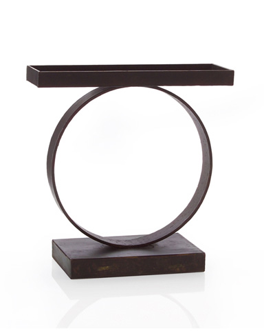 John Richard Collection - Iron Rung Candle Holder - JRA-8597