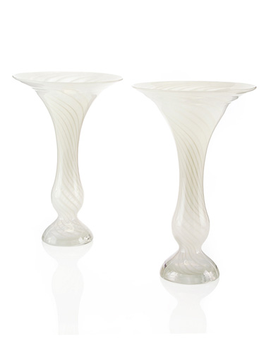 John Richard Collection - Fluted Glass Vase - JRA-8633S2