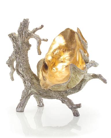 John Richard Collection - Silver Driftwood Stand - JRA-8635