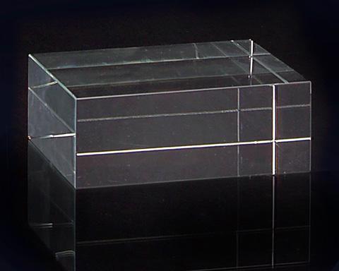 John Richard Collection - Square Optical Glass Stand - JRA-8710