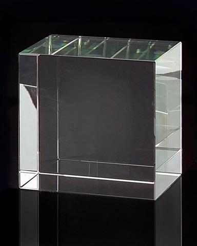 John Richard Collection - Square Optical Glass Stand - JRA-8711