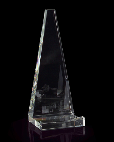 John Richard Collection - Optical Glass Plate Stand - JRA-8722