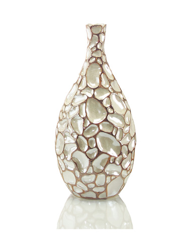 John Richard Collection - Pearl Crazed Pattern Vase - JRA-8731