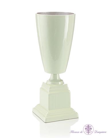 John Richard Collection - Aqua Urn on Square Pedestal - JRA-8801