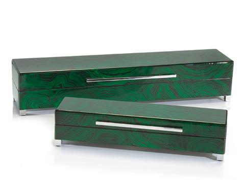 John Richard Collection - Malachite Boxes - JRA-8924S2