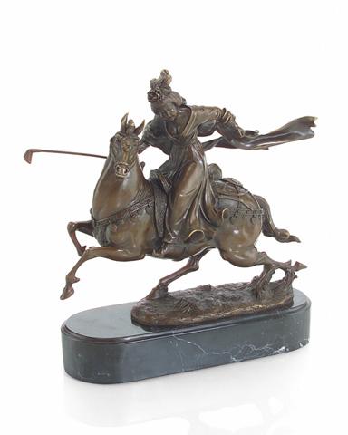 John Richard Collection - Royal Woman Polo Player - JRA-8937
