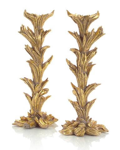 John Richard Collection - Gold Whimsical Garden Candlestick - JRA-8945S2