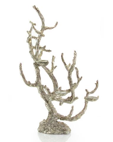 John Richard Collection - Antique Silver Branch Candelabra - JRA-8955