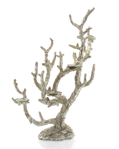 John Richard Collection - Antique Silver Branch Candelabra Light - JRA-8956