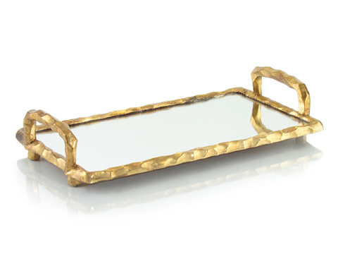 John Richard Collection - Mirrored Tray with Handles - JRA-8959