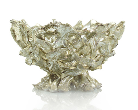 John Richard Collection - Silver Twisted Briars Compote - JRA-8963