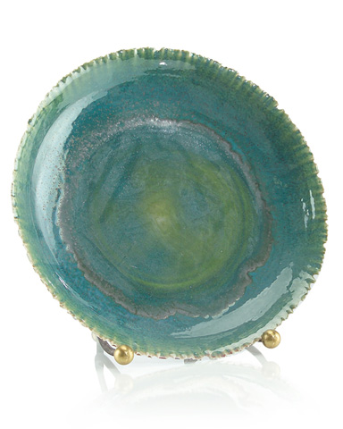 John Richard Collection - Blue Glaze Charger - JRA-9006