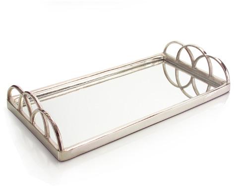 John Richard Collection - Silver Mirrored Tray - JRA-9116