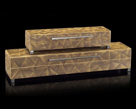 John Richard Collection - Python Patterned Boxes - JRA-9189S2
