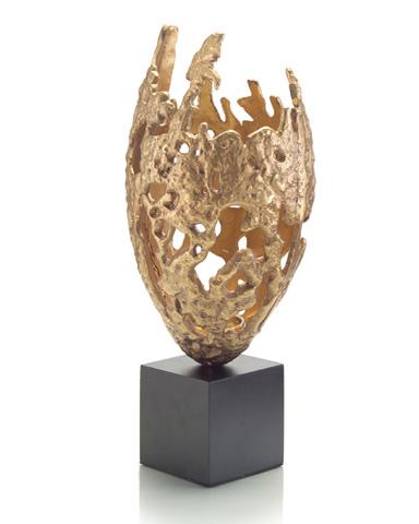 John Richard Collection - Brass Casting on Black Base - JRA-9209