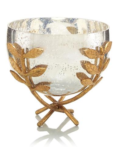 John Richard Collection - Leaf Embraced Bowl - JRA-9235