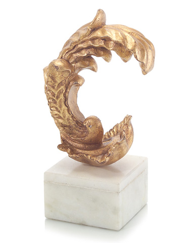 John Richard Collection - Wood Carved Acanthus Leaf - JRA-9262
