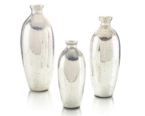John Richard Collection - Mercury Glass Vase - JRA-9306S3