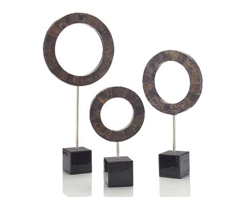 John Richard Collection - Buffalo Horn Rings Set - JRA-9313S3