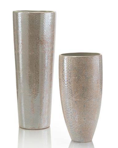 John Richard Collection - Cream Python Vase - JRA-9465S2