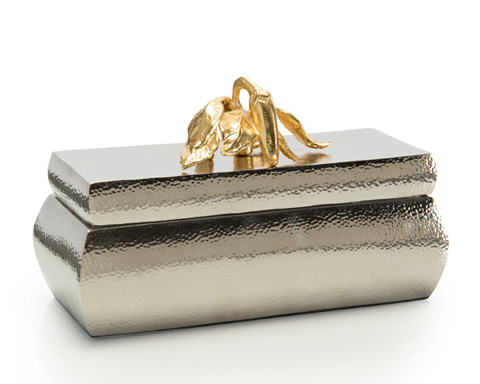 John Richard Collection - Nickel Box with Pepper - JRA-9645