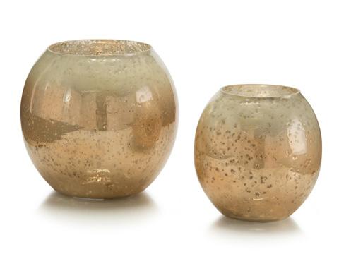 Carmel Glass Candle Holders