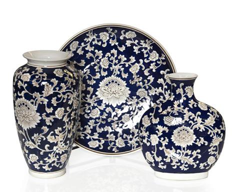 John Richard Collection - Chrysanthemum Vase Set - JRA-9738S3