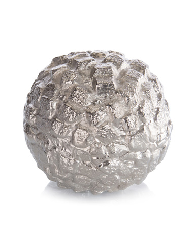 John Richard Collection - Nickel Aragonite Sputnik Ball - JRA-9825