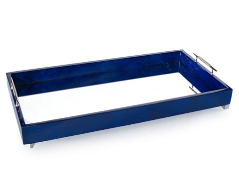 John Richard Collection - Indigo Blue Tray - JRA-9865