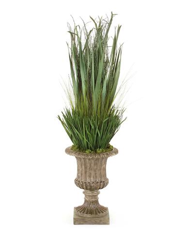 John Richard Collection - Dried Grasses Urn - JRB-0488