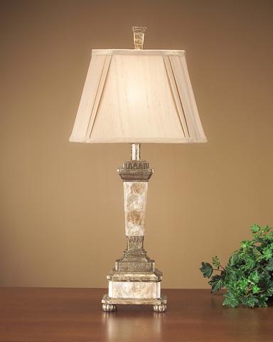 Capiz Comp Lamp