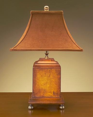 John Richard Collection - Wood Fin Comp Lamp - JRL-7326