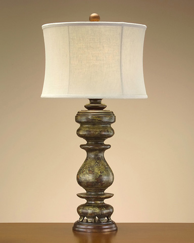 John Richard Collection - Baluster in Aged Green - JRL-7838