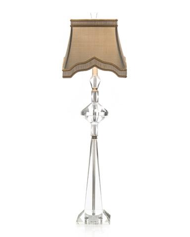 John Richard Collection - Stacked Crystal Buffet Lamp - JRL-7873