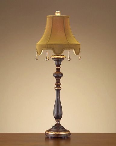 John Richard Collection - Turned Candlestick Table Lamp - JRL-8015