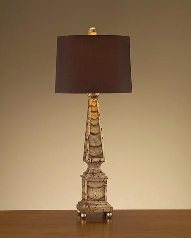 John Richard Collection - Mother of Pearl Lamp - JRL-8067