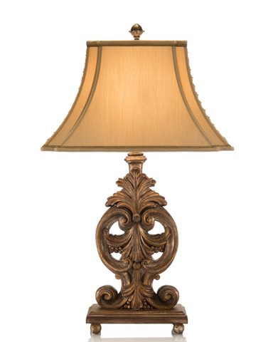 Acanthus Leaf Table Lamp