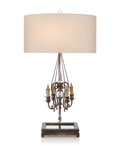 John Richard Collection - Chandelier Table Lamp - JRL-8187