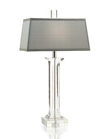 John Richard Collection - Classical Crystal Column Lamp - JRL-8345