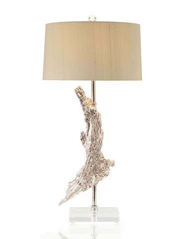 John Richard Collection - Silvered Driftwood Lamp - JRL-8357