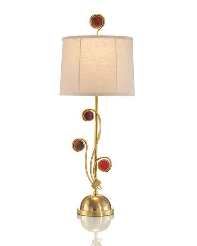 John Richard Collection - Agate and Onyx Buffet Lamp - JRL-8408