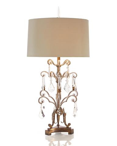 Image of French Girandole Lamp