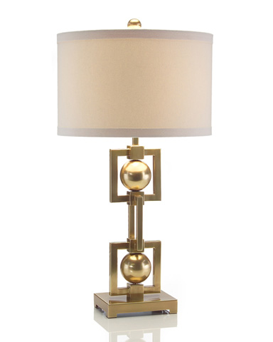 John Richard Collection - Sophisticated Squares Table Lamp - JRL-8675