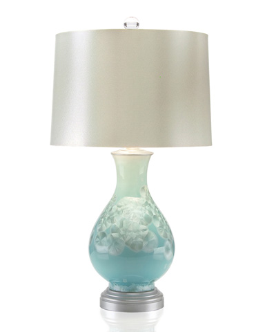 John Richard Collection - Blue Pearl Lamp - JRL-8795