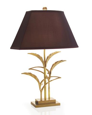 John Richard Collection - Study of Brass Leaves Lamp - JRL-8798