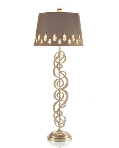 John Richard Collection - Shimmering Spirals Buffet Lamp - JRL-8807