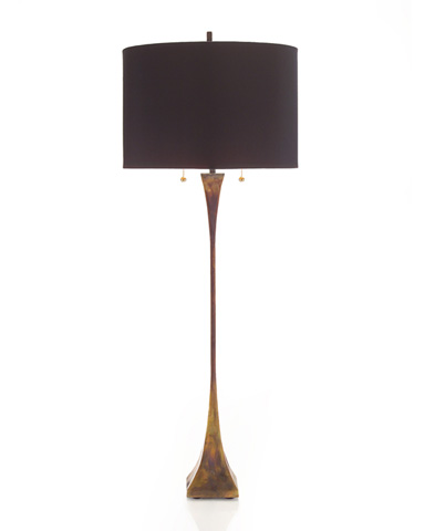 John Richard Collection - Heat Treated Brass Table Lamp - JRL-8846