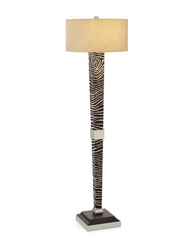 John Richard Collection - Zebra Modern Mission Floor Lamp - JRL-8855