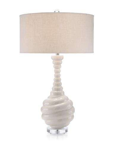 John Richard Collection - Vanilla Swirl Lamp - JRL-8914