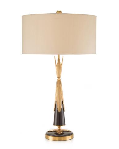 John Richard Collection - Deco Sunburst Lamp - JRL-8940